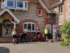 Preparing to leave Cholderton
